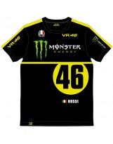 T-Shirt Monster Replica Noir