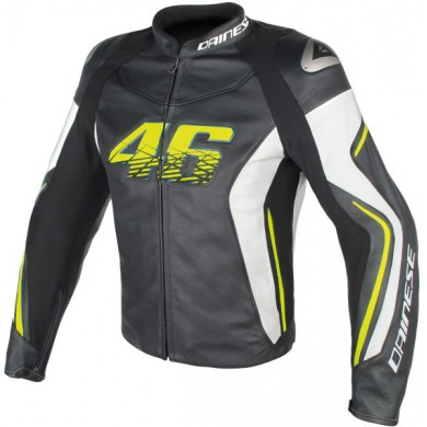 D2 Leather Noir VR46