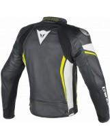VR46 D2 Leather schwarz