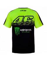 VR46 T-Shirt Replica 274428 Jaune Fluo