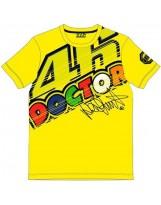 VR46 T-Shirt 261801 Jaune