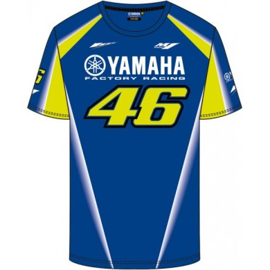 VR46 T-Shirt Racing 313909 Bleu