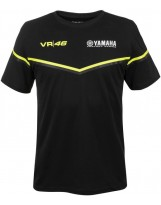 VR46 T-Shirt Black 315504 schwarz