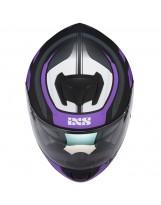 IXS215 2.0 Noir Mat Violet Blanc