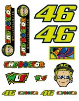 VR46 Stickers Big Set 312603