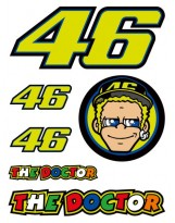VR46 Stickers Small Set 312703