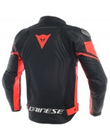 Racing 3 Leather Rouge Fluo