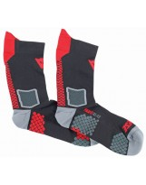 D-Core Mid Sock Rouge