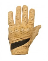 Custom Glove perforated Brun