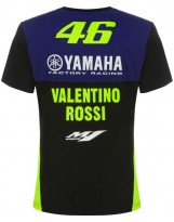 VR46 T-Shirt Racing 362009 Bleu