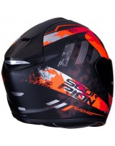 Exo 1400 Air Sylex Noir Mat Rouge