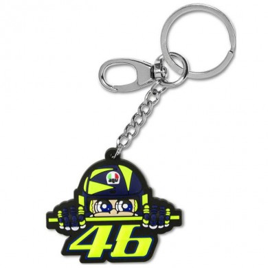 VR46 Key Ring Cupolino 355703 multicolor