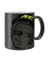 VR46 Mug Dottorino 312204 Noir
