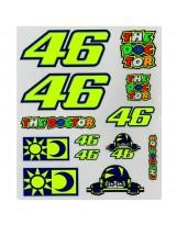 VR46 Stickers Big Set 356803 multicolor