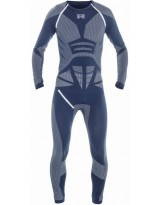 Race Suit Long Summer blau