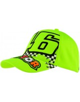 VR46 Cap The Doctor Jaune Fluo