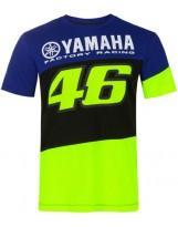 VR46 T-Shirt Racing 394909 Bleu