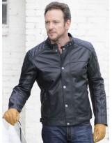 Hampton Leather Jacket Noir