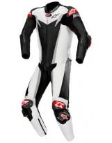 GP Tech V3 1pc Suit Noir Blanc Silver