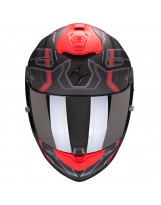 Exo 1400 Air Spatium Noir Mat Rouge