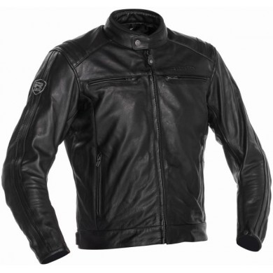 Retro Racing 3 Jacket Noir