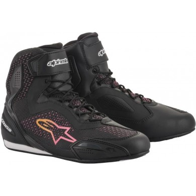 Stella Faster-3 Rideknit Noir Pink