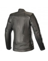 Gal Leather Jacket Noir