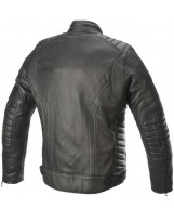 Burstun Leather Jacket Noir