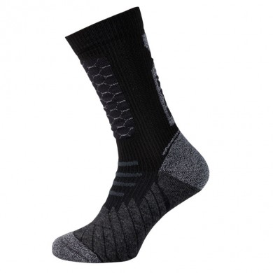 Socks 365 Courtes Noir Gris (Paire)