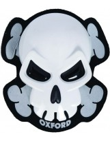 Skull Knee Sliders White