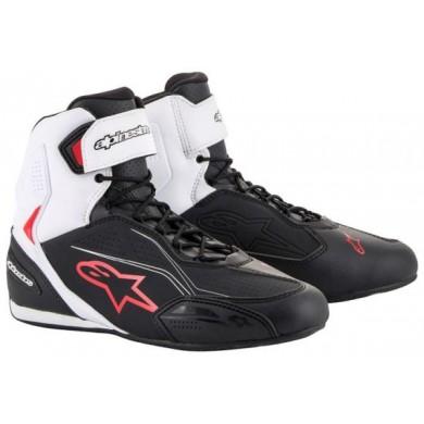 Faster-3 Noir Blanc Rouge