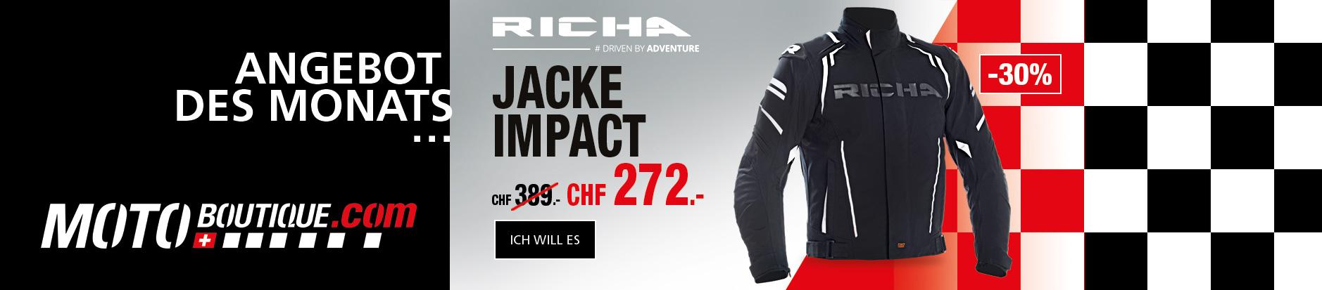 Richa Jacke Impact