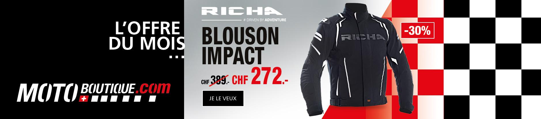 Richa Blouson Impact